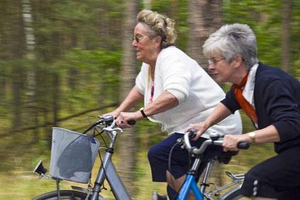 Radfahren im Alter